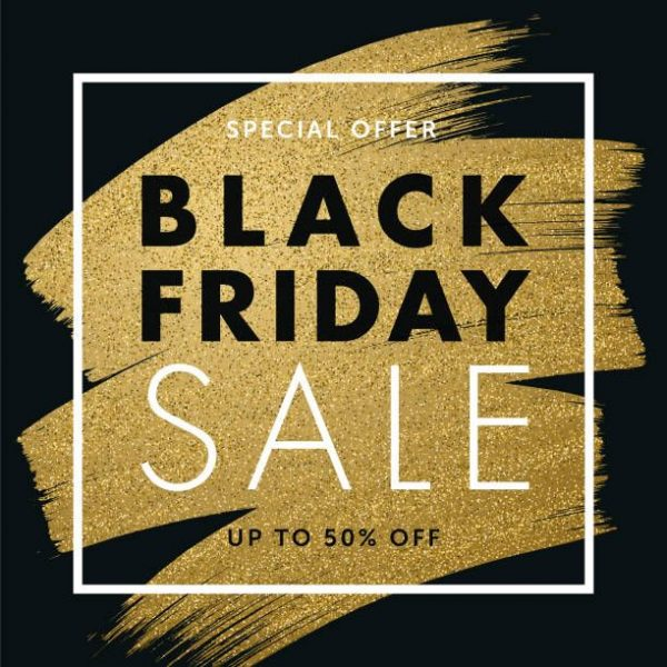 Black Friday design for advertising, banners, leaflets and flyers_ vector art illustration