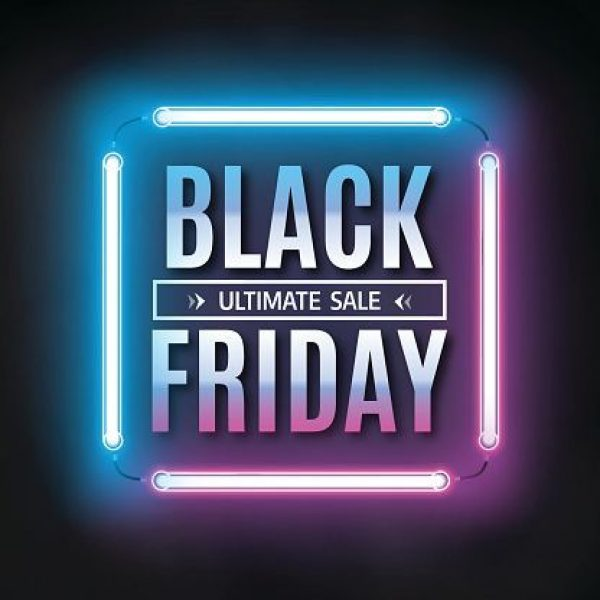 #black #design #friday #light #Template black-friday-sale-design-template-black-friday-light-frame-vector-id610439430 (4___